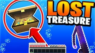 Fishing For Lost Treasure! (INSANE UPDATE) | Minecraft Skyblock