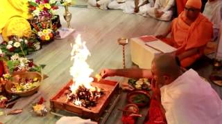 <h5>Homa at Saraswati Puja 2015</h5>