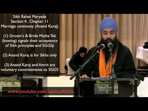 Sikh - Are non-sikhs allowed to marry Sikhs? Are Sikhs allowed to do Anand Karaj with someone who is not a Sikh? This has become a very public debate recently. This...