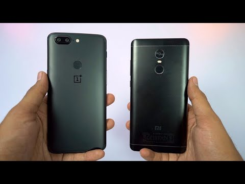 Redmi Note 4 vs OnePlus 5t Speed Test, Memory Management test and Benchmark Scores