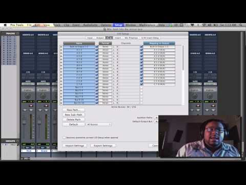 Pro Tools Tips & Tricks UDE 101: I/O Set up Inputs & Outs