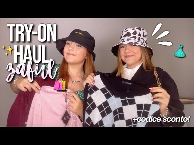 TRY-ON HAUL ZAFUL mode del momento