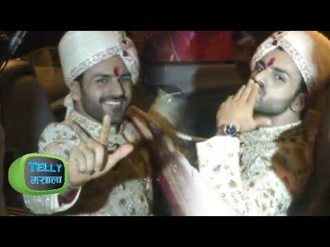 Divyanka Tripathi WEDDING : BARAAT DANCE   INSIDE