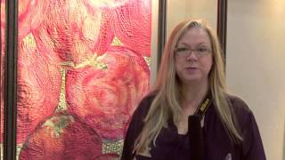Houston Quilt Festival 2012 - SAQA Exhibit - Seasonal Palette