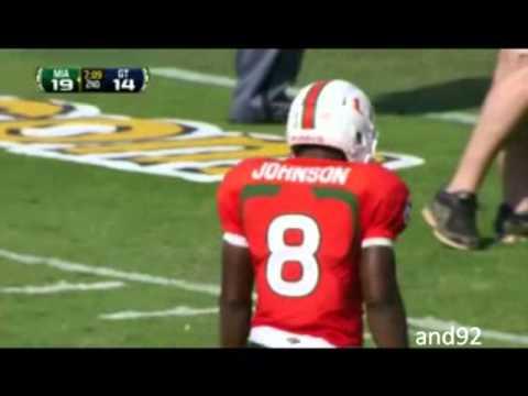 Duke Johnson vs Georgia Tech 2012 video.