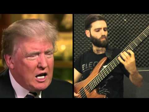 Donald Trump Says China  Bass Cover by Iggy Jackson