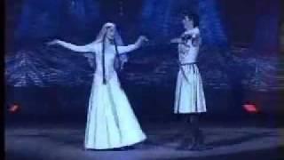 ქართული ხალხური ცეკვა.
