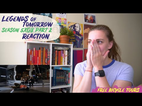 """Legends of Tomorrow Season 5 Episode 8 """"Zari, Not Zari"""" REACTION Part 2"""