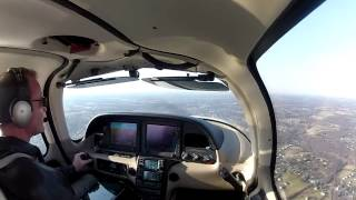 Cirrus SR-20 Departing KGAI