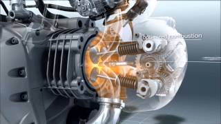 2. BMW R 1200 GS Engine in slow motion