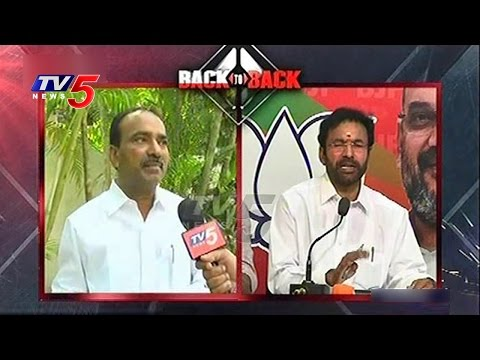 Etela Rajender vs Kishan Reddy   Political War