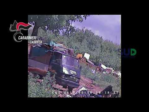 Caserta, arresti per smaltimento rifiuti in terreno agricolo