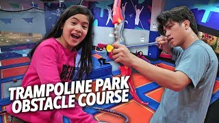 Video Trampoline Park Obstacle Course!! | Ranz and Niana MP3, 3GP, MP4, WEBM, AVI, FLV Februari 2019
