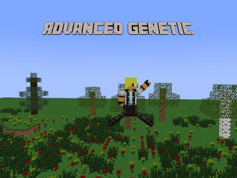 presentation du mod ADVANCED GENETIC 1.6.4 ♦MINECRAFT♦+le serveur