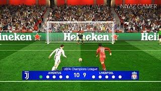 JUVENTUS vs LIVERPOOL | Final UEFA Champions League - UCL | Penalty Shootout | PES 2019