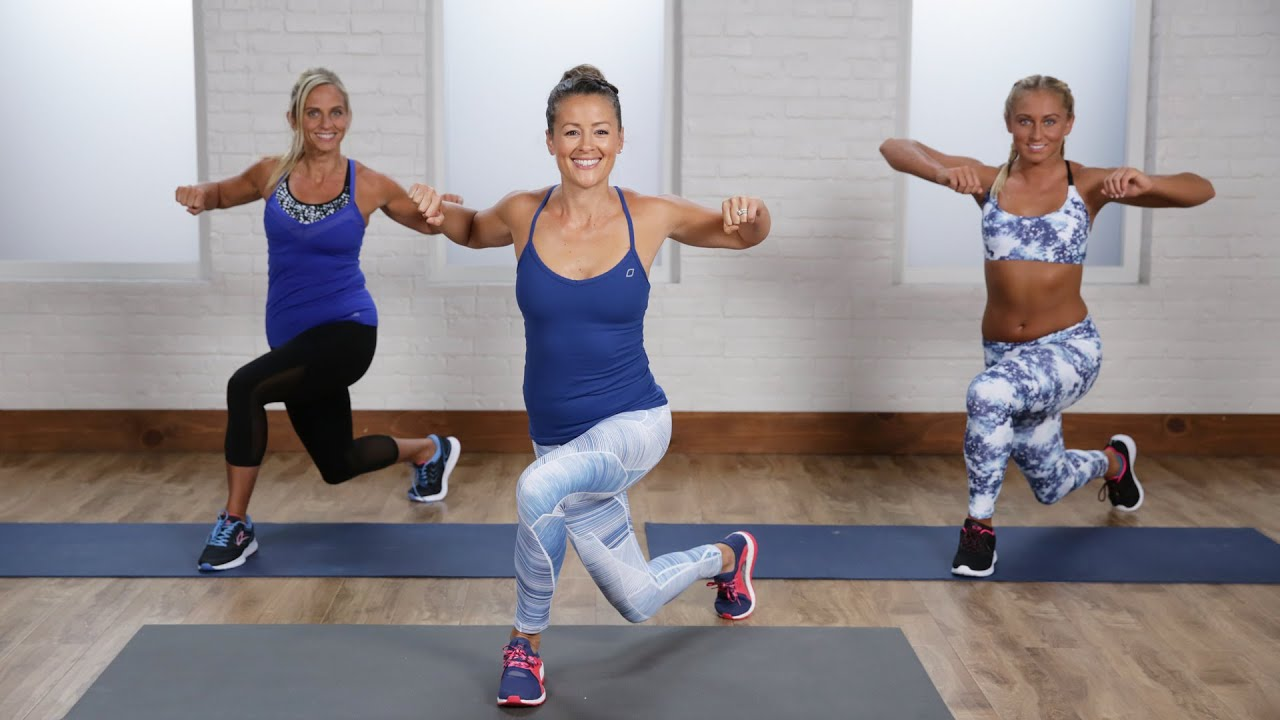 15-Minute Beginner's At-Home Cardio Workout   Class FitSugar