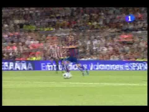 FC Barcelona - Athletic de Bilbao. Supercopa de España partido de vuelta (1-0)