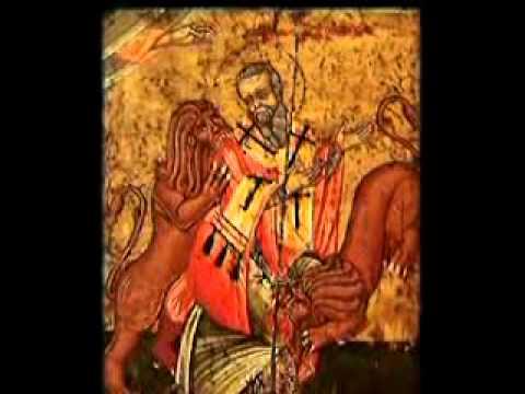 17 de Outubro, dia de Santo Inácio de Antioquia