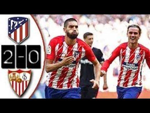 Atletico Madrid vs Sevilla 2-0 All Goals & Highlights 23/09/2017