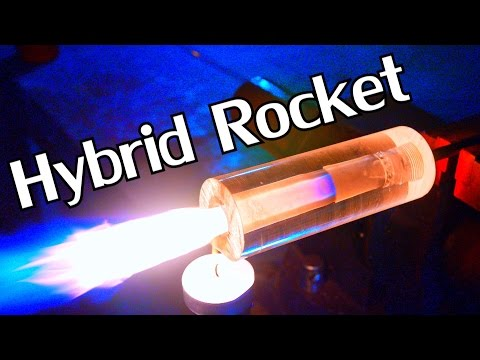 How to Build a Working DIY Transparent Hybrid Rocket