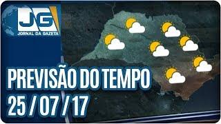 Hoje foi mais um dia ensolarado em todo o estado de São Paulo e fez calor à tarde em várias cidades. Aqui na capital, a máxima chegou aos 26 graus, mas agora à noite, a temperatura já voltou a cair. Vamos ver como fica o tempo amanhã, com Mariana Armentano.