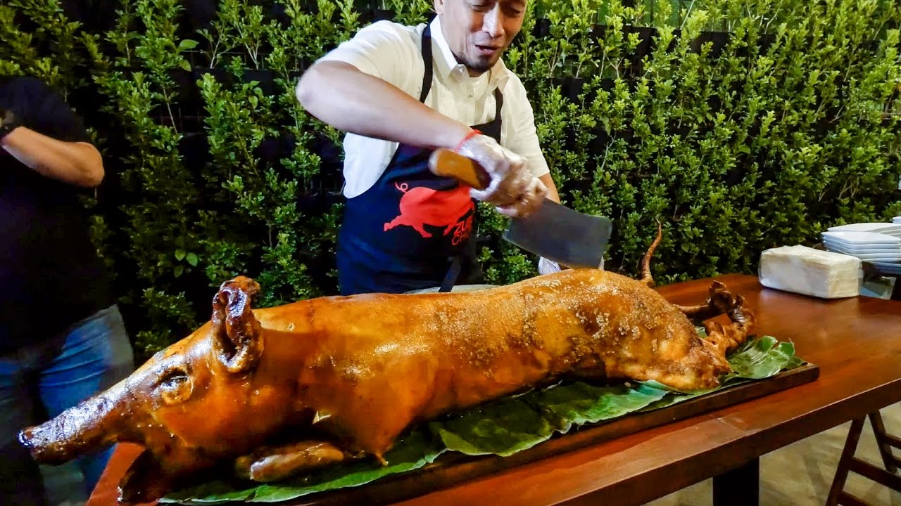 15-Hour Filipino Food Tour in Pampanga & Manila, Philippines – HUGE LECHON with Makansutra!