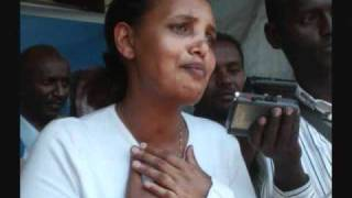 Artist Debebe Eshetu Announcing The Release Of Judge Birtukan Midekesa From Kaliti Prison