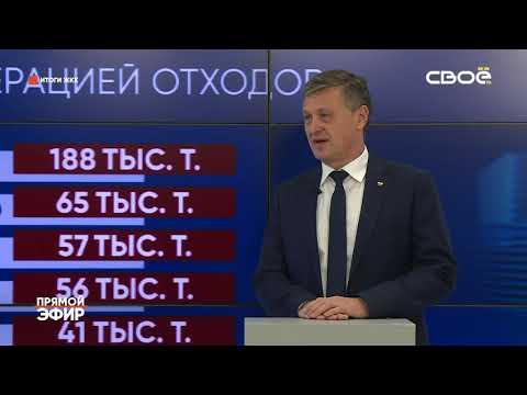 Свое ТВ 19.12.2019 «Прямой эфир» с министром ЖКХ СК Р.А. Марченко