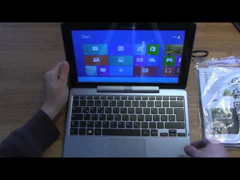 Unboxing - Samsung ATIV Smart PC XE500T1C