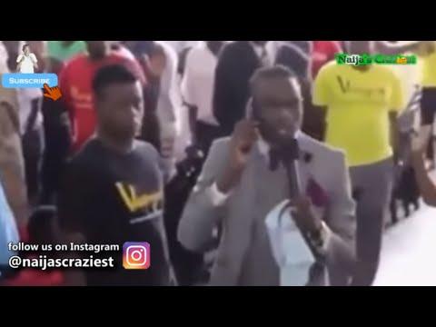 "Zimbabwean Pastor ""Calls God on Phone"""