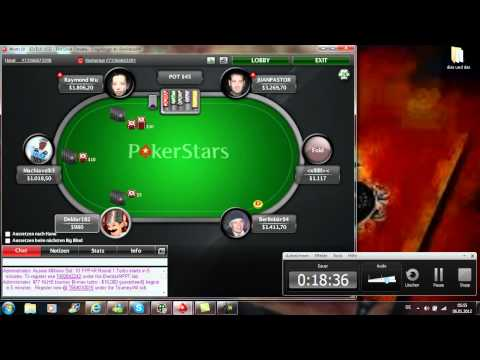 Online-Poker gegen die Pokerstars-Pros