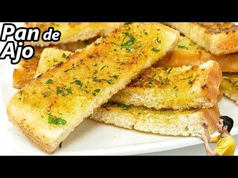 Receta de PAN de AJO FÁCIL y muy RÁPIDO! SIN HORNO y en pocos MINUTOS 😍🍞🧄😋¡INCREIBLE! ¡¡Pruébalo!!