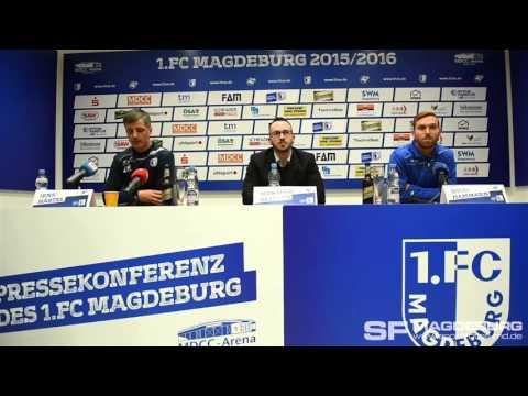 Video: Pressekonferenz vor dem Spiel FC Energie Cottbus gegen 1.FC Magdeburg
