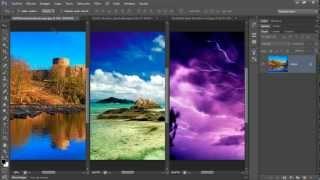 Curso Photoshop CS6 Capítulo 2 Organizar Imágenes Abiertas Ventanas de Documento10