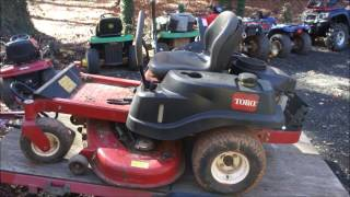 10. Good deal on TORO S5000 zero turn