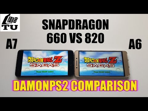Snapdragon 820 vs 660 Comparison DamonPS2 Pro Emulator/PS2 Games/Xiaomi Mi Note 3 vs LEECO Le Pro 3