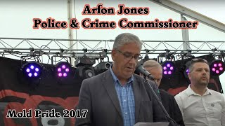 Flintshire Pride Opening with Arfon Jones, Police & Crime Commissioner