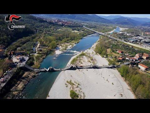 Κατάρρευση γέφυρας στη βόρεια Ιταλία – Δύο τραυματίες