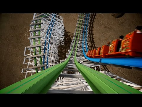 six - OMG! Six Flags Magic Mountain's New for 2015 Twister Colossus looks... INSANE!!!!