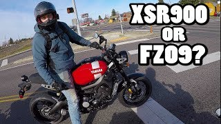 8. Checking Out the New Yamaha XSR900!