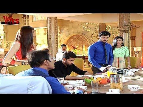 Naina INFULENCES Karan! Karan's first Day IN Offic