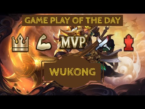 AoV Game Play Of The Day: Wukong - Arena Of Valor