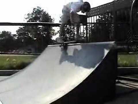 Me at the Highland Park Skatepark