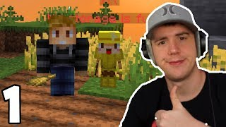 Meet Jerry in my first Skyblock Series | Hypixel Skyblock #1