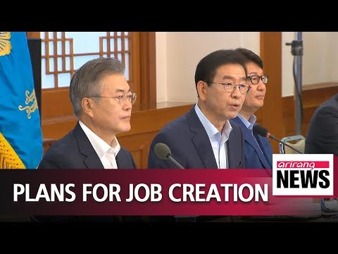 Pres. Moon meets with local gov't heads about creating jobs