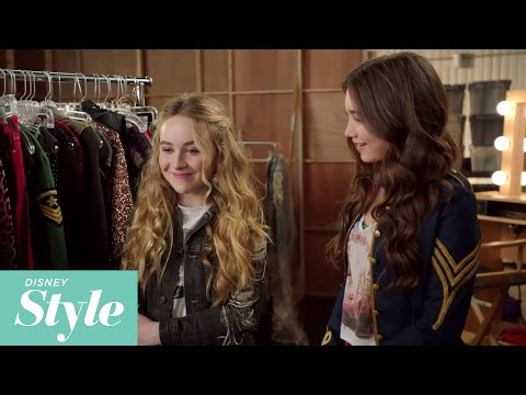 here - Get the inside fashion scoop and style tips from Peyton List as she visits Rowan Blanchard and Sabrina Carpenter on the set of Girl Meets World! Create your own signature looks inspired by...