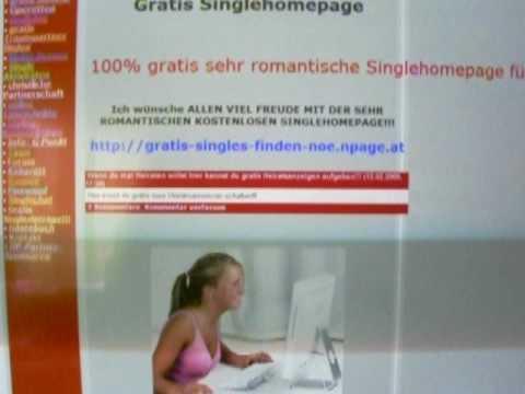 Sehr romantische kostenlose Homepage für Single