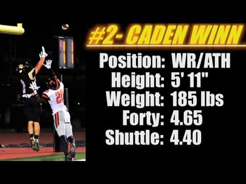 WR-ATH- Caden Winn (5' 11''-185 lbs) CULLMAN HIGH SCHOOL 'AL