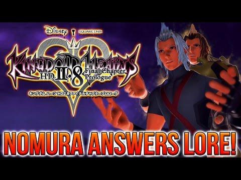 Kingdom Hearts 2.8 - Tetsuya Nomura Answers Lore (NEW Lore Information!)