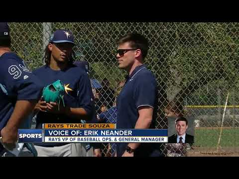 3-team trade sends Steven Souza Jr. to Diamondbacks, Brandon Drury to Yankees, prospects to Rays